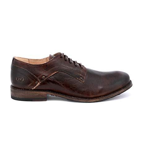 (Bed|Stu Men's Larino Leather Oxford (11, Teak Rustic,))