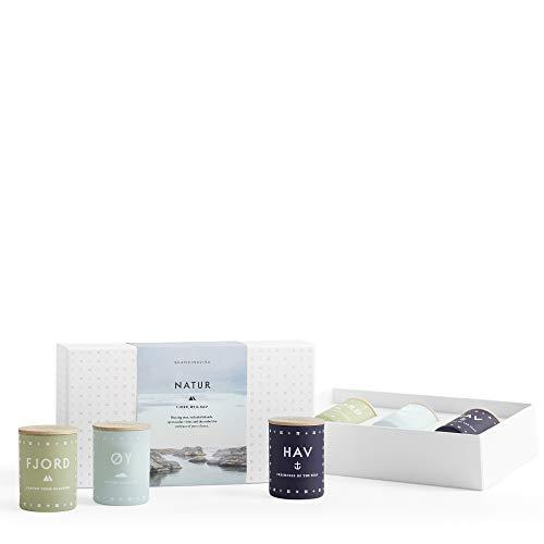 SKANDINAVISK Natur Mini Candle Gift Set 3 x 1.94 Oz