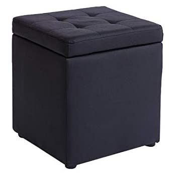 Merveilleux HMEIGUI Small Ottomans With Storage Footstools, Storage Ottoman Cube Seat  Rest Stool Foot Stools Foot