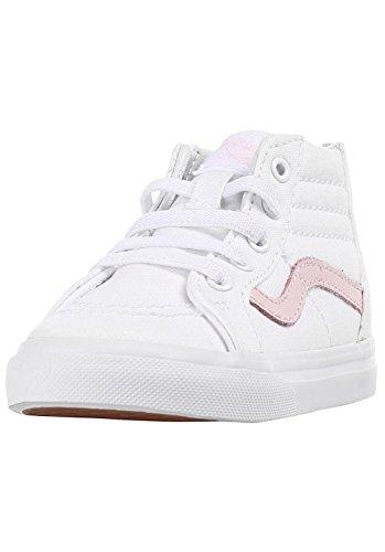 Premiers Pas Vans Mixte True Chaussures hi Sk8 chalk White Bébé Zip Pink qwXFXZIOS