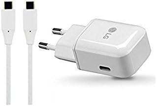 Cable para LG G5 G6 Nexus 5X Bulk V20 Cargador Original LG MCS-H05ER Carga Rapida 6P V30