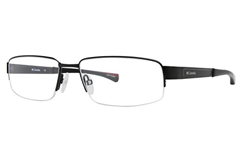 Columbia Cuyuna Eyeglass Frames - Frame Black/Red, Size 55/16mm - Eyewear Frames Columbia