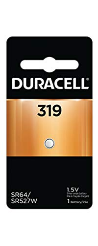 Silver Oxide 319 Battery Watch (Duracell D 319 - Battery Silver Oxide)
