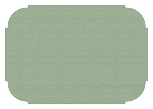 (Hoffmaster Soft Sage Green Paper Placemats 50 per Pack)