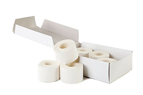 Zinc Oxide Tearable Sports Tape 2.5cm x 10m - Pack 3
