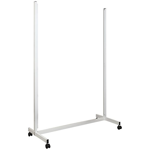 Balt Essentials Mobile Vertical Sliding Whiteboard, Stand Only, Box 2 of 2 and must order box 1 to complete unit (84187) by Balt Essentials