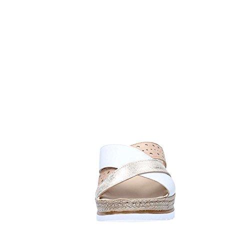 Beige Sandaler Kvinner Hvit 019083z Melluso qx6nIwRpX