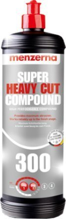 Menzerna 300 Super Heavy Cut Compound with FREE MICROFIBER TOWEL