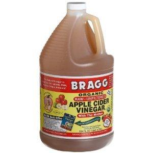 Mother Vinegar Apple Bragg With Cider (Bragg Organic Raw Apple Cider Vinegar, 128 Ounce (Pack of 4))