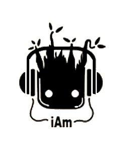 I Am Groot Black Decal Vinyl Sticker|Cars Trucks Vans Walls Laptop| Black |5.5 x 4.5 in|LLI686 -