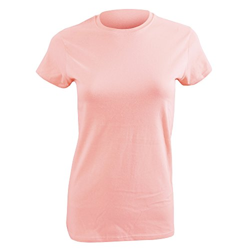 Gildan Ladies Soft Style Short Sleeve T-Shirt (S) (Light Pink)