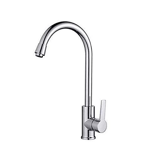 Bonade Elegant Mischbatterie Küchenarmatur 360° drehbar Schwenkbarer Wasserhahn Armatur für Küche Waschbecken BOANDE Direct