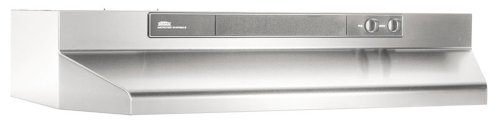 "Broan Intermediate 30"" Convertible Range Hood Stainless Steel 463004"