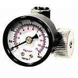 Air Regulator 1/4 With Gauge Tools Equipment Hand Tools