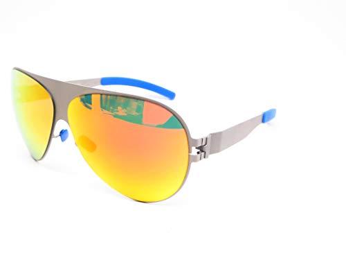 Mykita Sunglasses Frame New Patented Germany Round Mod.FRANZ Mattegrey 64 ()