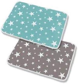 2 paquetes Almohadilla impermeable para cuna Style #1 Colch/ón lavable para beb/é Cama para beb/é Colch/ón para cambiar pa/ñales Almohadilla impermeable Cama para incontinencia