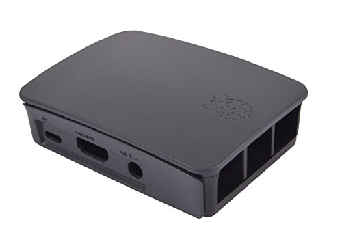 Raspberry Pi 3 Case - Black/Grey by Raspberry Pi (Image #4)