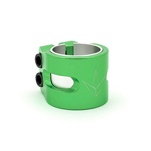 Blunt 2 Bolt Twin Slit Scooter Clamp Green