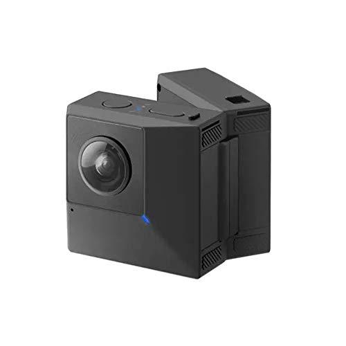 Gfdsase Action Camera Durable Folding 5.7K 180° 3D VR 360° Photo Panoramic Naked Eye Anti Shake HD Sport Vlog Camera…