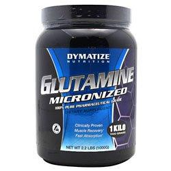 DYMATIZE micronisé Glutamine 35,2 oz (2,2 lb)
