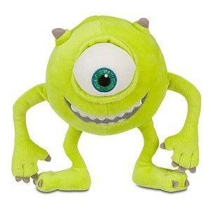 Disney Monsters Inc. Plush Mike Wazowski (8in) Plush Toy Figure ()