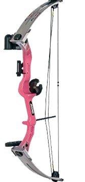 Bear Archery Right Hand Brave 3 Bow Set (Pink)