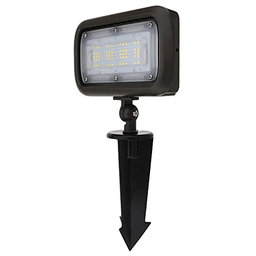 MarsLG Series-7 Low Voltage Compact 40W LED Landscape Flood Light with 1/2