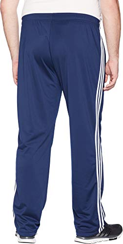 adidas Men's Big & Tall Essentials 3-Stripes Regular Fit Tricot Pants Collegiate Navy/White 1 Large 34 Tall 34 by adidas (Image #2)