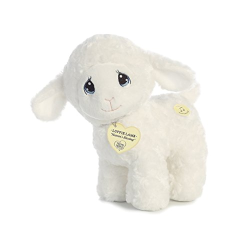 (Aurora World Precious Moments Luffie Lamb Wind-Up Musical Toy Jesus Loves Me)
