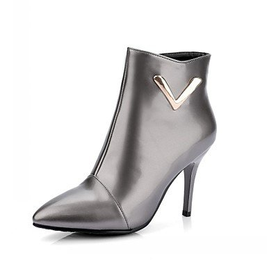 RTRY Women'S Boots Spring Fall Winter Comfort Novelty Patent Leather Leatherette Wedding Office &Amp; Career Dress Casual Party &Amp; Eveningstiletto US6.5 / EU38 / UK5 Big Kids akgXVdyt
