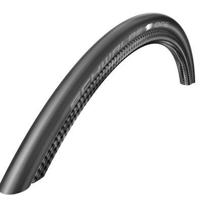 - SCHWALBE One HT Black Tubular Tire, 700cm x 22