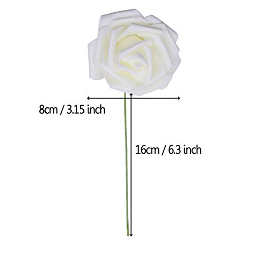 YONGSNOW-Artificial-Flowers-PE-Foam-Roses-50-Pcs-for-DIY-Wedding-Home-Party-Decor-Real-Touch-Bouquet-F02-Beige
