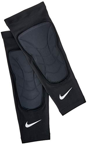 Caneleira Basquete Padded Shin Sleeves (Pares) Nike P/M Black/White