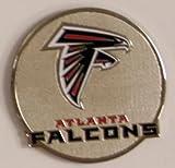 Atlanta Falcons NFL Round Metal Magnet