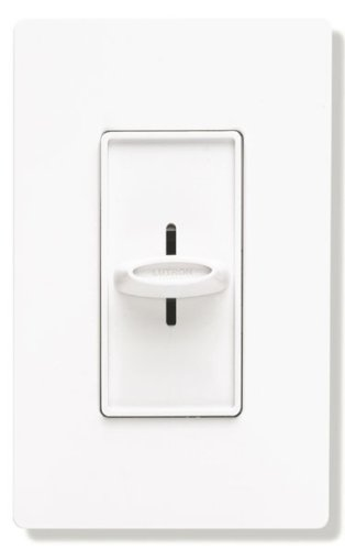 Fan Control Switch - Lutron SFSQ-FH-WH Electronics Slide-To-Off Fan Speed Control, White