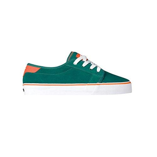 Forte Chute 41070029 Chaussures De Sport Pour Hommes - Vert Skateboarding (sarcelle / Orange Fureur Brillante)