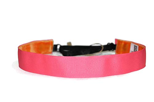 BEACHGIRL Bands Pink Headband Non Slip Adjustable Workout Hairband For Women