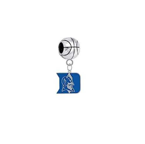 Duke Blue Devils Basketball 3D Universal European Bracelet Charm