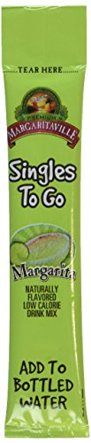 - Margaritaville Margarita Singles to Go 6 Packets X 2 Boxes - 12 Packets