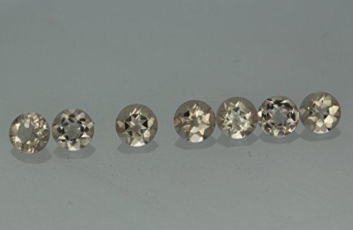 Review Natural Morganite 6mm Round