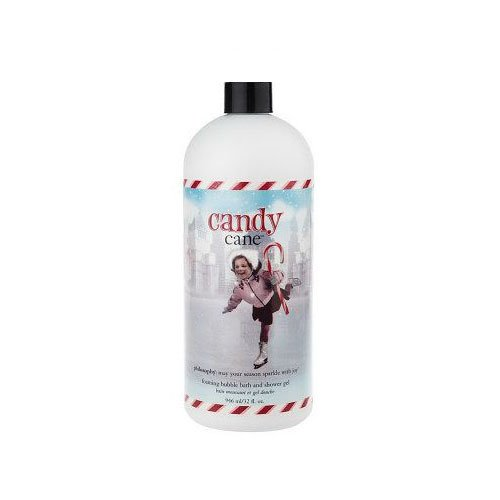 Philosophy Candy Cane Bubble Bath and Shower Gel - 32 oz