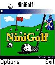 NiniGolf for Nokia S60 (3650/7650/N-Gage etc.) - Symbian