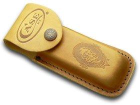 CASE XX Large Brown Leather Job Case Belt Sheath for Pocket Knives