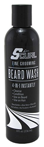 Luster's S Curl Beard Wash, 8 (Luster Wash)