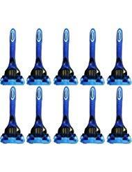 Schick Hydro 5 for Men Disposable Razors - Lot of 10 - Bulk