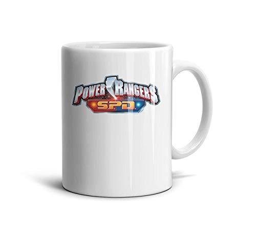 SINGKING Tea Mugs 11Oz Power-Rangers-SPD- Inspirational Drinks -