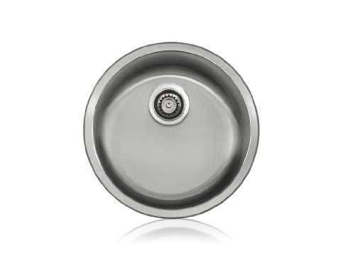 Lenova SS-SPL-S5 Stainless Steel Specialty Single Bowl Undermount Kitchen Sink, Small