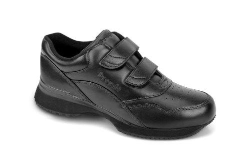 Propet Women's Tour Walker Strap Sneaker,Black,10 W (US Women's 10 D) by Propét