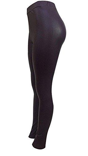 Moda Di Autunno High Pelle Trousers Pelle Eleganti Monocromo Moda Donna Tubino Fit Accogliente Leggins Elastica Matita Grazioso Invernali Leggins Sintetica Lila Giovane Lunga Waist Slim Pantaloni Vita xInRqgR