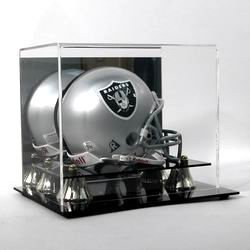 Deluxe Acrylic Mini Football Helmet Display Case by Comictopia ()